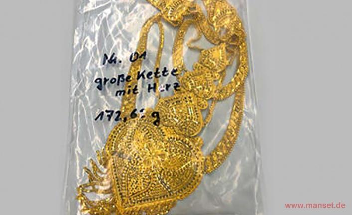 Hannover Havaalanında  40 bin euro değerinde Altın ve Bileziklere El Konuldu.