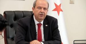 """KKTC  Cumhurbaşkanı Ersin Tatar """"Ada'da 2 devlet vardır"""""""