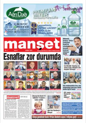 Hamburg Manset Gazetesi  - 05.02.2021 Manşeti - Deneme